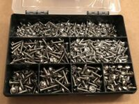 Stainless Steel Pozi Flange Head Self Tapping Screws Choice of Assorted Kit Qty.