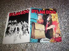 DYLAN DOG L'ORRORE SUPPLEMENTO A GLAMOUR DA PER LUI N.74 SETTEMBRE 1989 OTTIMO