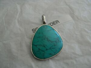 Premier Designs CABO silver turquoise enhancer RV $33 free ship nwt
