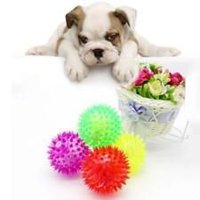 5 Pcs Light-up LED Bite Ball Dog and Cat Flashing Sensory Fun Blinking Pet Toy