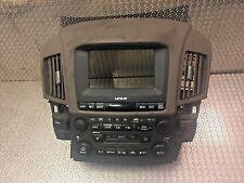 LEXUS RX300 RX 300 A/C Radiador GPS Botones Audio Unidad Principal 84010-48050