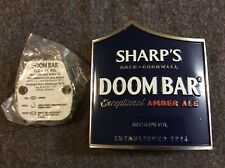 Sharp's Doom Bar Metal Pump Clip With Fixings Pub Ale Beer Man Cave Home Bar