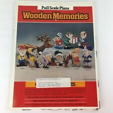 Wooden Memories Christmas Elves Woodworking Patterns Plans Garden Gnomes