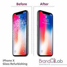 IPhone X Ecran Cassé Verre Remplacement Réparation Service (LCD doivent travailler)