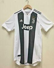 Nuevo Adidas Juventus Hogar Blanco y Negro 2018 2019 Camiseta De Fútbol Jersey grandes