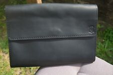 Walter Brown Men's Leather Wallet Clutch Purse Bag
