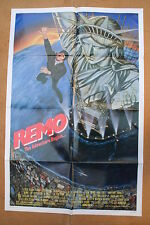 REMO: THE ADVENTURE BEGINS '85 Original OS Movie Poster FRED WARD & JOEL GREY