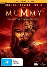 The Mummy: Tomb of the Dragon Emperor (DVD, 2009, 2-Disc Set) Brendan Fraser