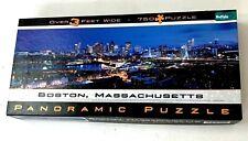 Boston Massachusetts Panoramic Puzzle 765 Pc 3 Feet Buffalo Games James Blakeway