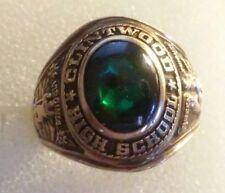 Vintage 1975  BALFOUR  10K Gold Ladies Class Ring Size 6.1/4 ((405))