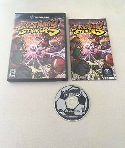 Super Mario Strikers (Nintendo GameCube, 2005) COMPLETE! Tested & Working!