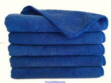 "5 (Five) PREMIUM MICROFIBER CLEANING WASH CLOTH TOWEL 16""x16"" 40x40cm 300GSM"