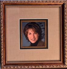 SUZY KOLBER ESPN Broadcaster Signed Framed Photo • COA