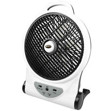 """OZTRAIL 10"""" FAN (12V / 240V)  Rechargeable Portable Camp Camping Tent"""