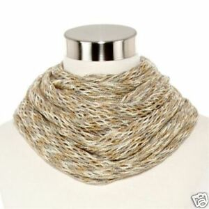 """Fishnet Infinity Scarf 18x64"""" New With Tags Msrp $26.00"""