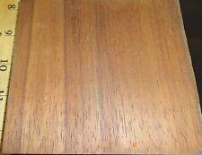 """Hawaiian Koa wood veneer panel 5"""" x 4.5"""" on 3/4"""" plywood board sample size"""