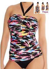 34G-FREYA ~ venise armatures bandeau tankini bikini soutien-gorge-noir
