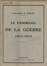 LE PANORAMA DE LA GUERRE 1914-1918  fascicule N° 59