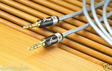 1pcs - MPS X7-EAGLE 10cm 3.5mm to 3.5mm 5N OCC copper stereo cable