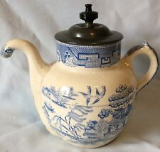 Blue Willow Doulton Self Pouring Teapot