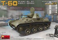 MiniArt T-60 Plant No. 37 Early Series Bausatz 1:35 Kit Art. 35224 Panzer Tank