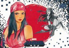 #33 ELEKTRA 2020 Upper Deck Marvel Anime SAVAGE AVENGERS