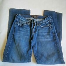 Lucky Brand Indigo Wings Sweet N Low Blue Jeans Size 0 / 25 Distressed