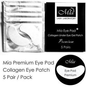 (Lots: 5-100) Premium Collagen Gel Eye Pads Under Eye Patch Eyelash Extension