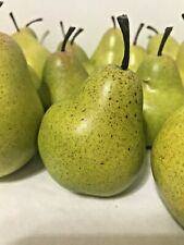 Pear Fake Fruit Faux Green Yellow Artificial Theater Movie Prop Home Price Each