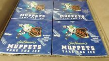 Muppets Take The Ice NHL Trading Card CASE 8 SEALED BOXES PER CASE