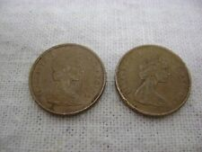 Two Canada One Cent Pieces, 1966 & 1867-1967 Bird One Cent!