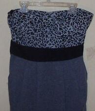 Papaya Strapless Animal Print Top Dress Junior Girl's Size Large.