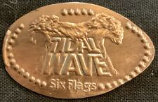 'Tidal Wave' Water Ride - Six Flags Magic Mountain California Pressed Penny
