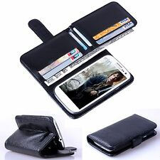 New 7 Cards Holder Flip Wallet Leather Case Cover For Samsung Galaxy S 3 i9300