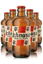 24x Birra Ichnusa Non Filtrata Cl 0.33 - Confezione da 24 Bottiglie