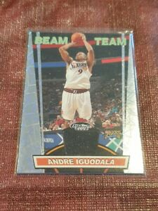 2007-08 Stadium Club Andre Iguodala Beam Team Jersey - Philadelphia 76ers