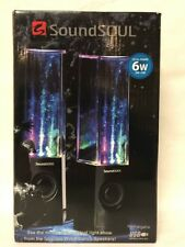 SoundSoul Wireless Dancing Water illuminated Speakers (2 Speakers)