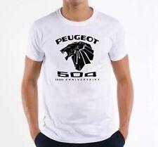 Taille L T-shirt Peugeot 504 50ème Anniversaire - Exclusif sous licence Peugeot