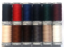 Gutermann Extra Strong Thread 100m Each Spool (12 Spools Set) 100%Polyester