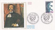 FRANCE 1974 FDC BARBEY D'AUREVYLLI YT 1823