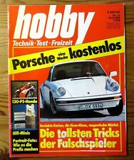 Hobby 13/1980 Vgl.test Porsche 911 SC+Porsche 924 turbo, Miniaturen, AMC-Honda