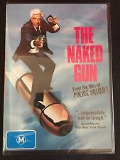 THE NAKED GUN DVD Region 4 Brand New And Sealed
