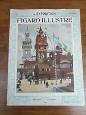 LE FIGARO ILLUSTRE Hors serie Juillet 1900 EXPO PARIS SUEDE SWEDEN SVERIGE