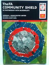 MINT 2003 Community Shield Arsenal v Manchester United