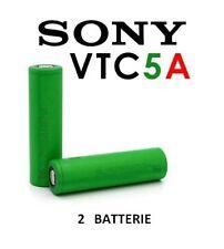 2 batterie ricaricabili Sony Konion 18650 VTC5A IMR Litio 3,7V 2600 mAh 35Ah