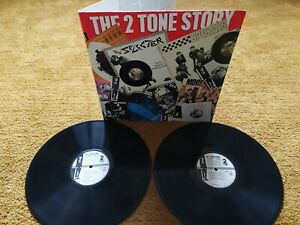 THE 2 TONE STORY UK 1989 VINYL LP SKA TWO TONE SPECIALS SELECTER BEAT MADNESS