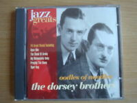 Jazz Greats 36: Oodles Of Noodles - The Dorsey Brothers (CD, 1997)
