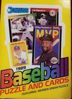 1989 Donruss Baseball Hobby Box (36 Packs) From Sealed Case Ken Griffey Jr  Rc