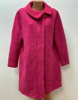 AUßVERKAUF - The MASAI Clothing Company Gr.M / L Mantel Jacke 80%WOLLE Fuschia
