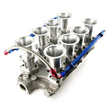 Ford SB 260 289 302 Windsor Downdraft EFI Stack Intake Manifold System